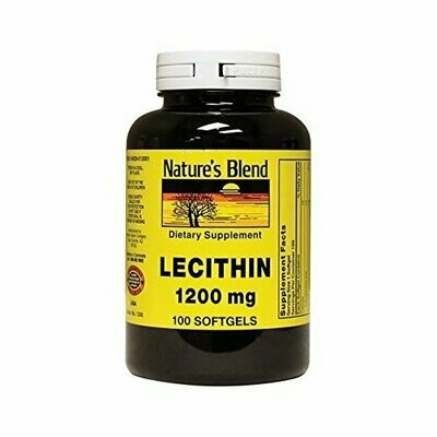 Nature's Blend Lecithin 1,200 mg 100 Softgels