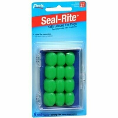 Flents Kid's Silicone Ear Plugs