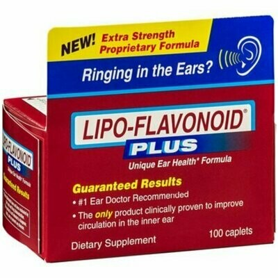LIPO-FLAVONOID Plus Caplets 100 each
