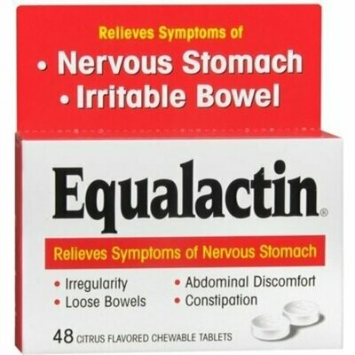 Equalactin Chewable Tablets 48 Tablets