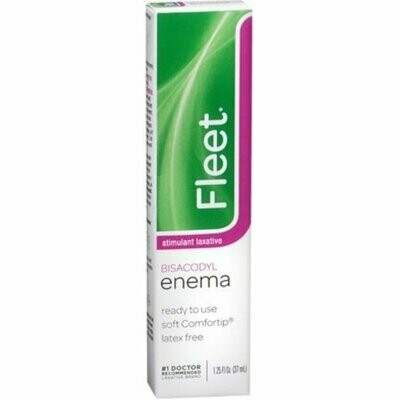 Fleet Bisacodyl Enema 1.25 oz
