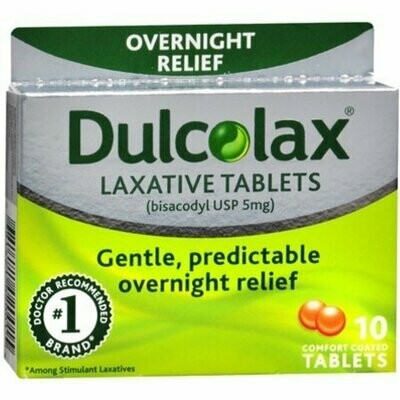 Dulcolax Tablets 10 each