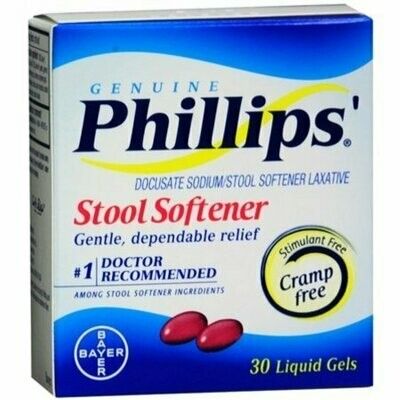 Phillips' Stool Softener 30 Liquid Gels