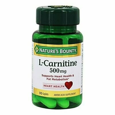 Nature's Bounty�� L-Carnitine 500 mg, 30 Tablets