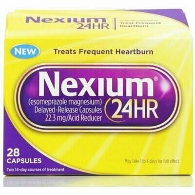 Nexium 24HR Capsules 28 pack