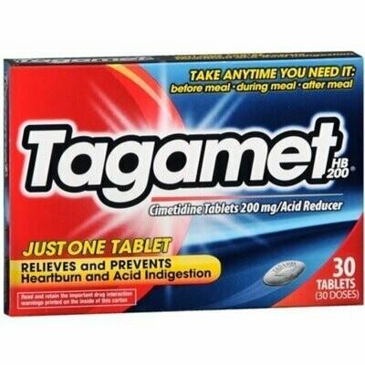 Tagamet HB 200 Acid Reducer, 200 mg 30 tabs