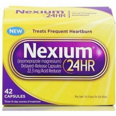 Nexium 24HR Capsules 42 pack