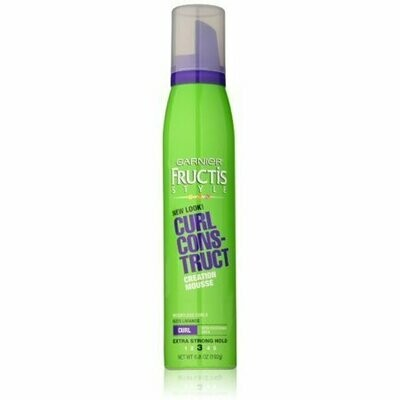 Garnier Fructis Style Hold Curl Construct Mousse Extra Strong 6.80 oz