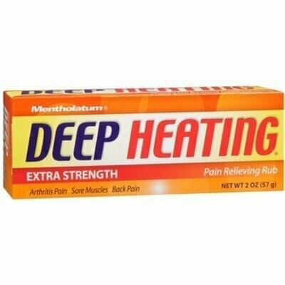 Mentholatum Deep Heating Rub 2 oz