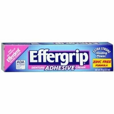 Effergrip Denture Adhesive Cream 2.50 oz