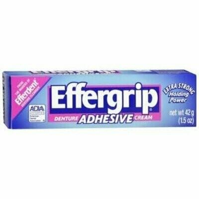 Effergrip Denture Adhesive Cream 1.50 oz