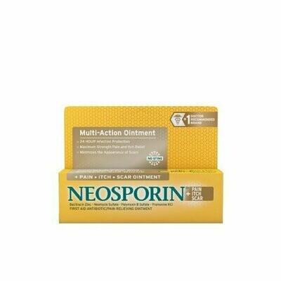 NEOSPORIN+PAIN ITCH SCAR OINTMENT .5OZ