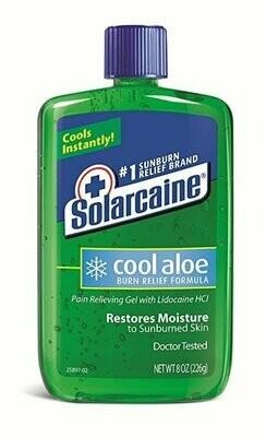 Solarcaine Aloe Extra Gel, 8 Ounce