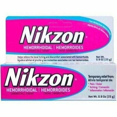 Nikzon Hemorrhoidal Cream 0.9 oz