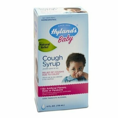 Hyland's Baby Cough Syrup, Natural Cough and Cold Relief, 4 Ounce