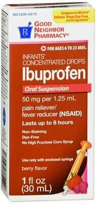GNP IBUPROFEN DROPS INFANTS BERRY 1 OZ