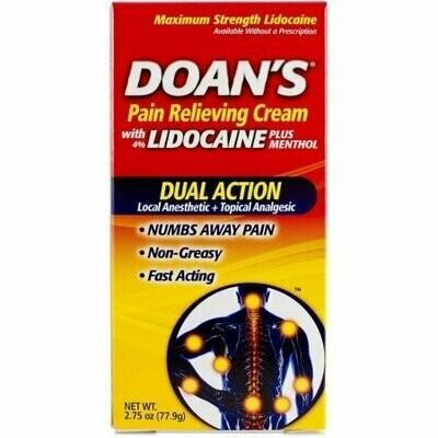 Doan's Pain Relieving Cream 2.75 oz