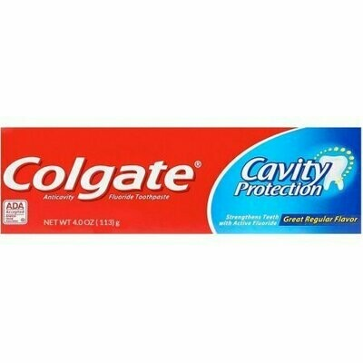 Colgate Cavity Protection Toothpaste 4.0 oz