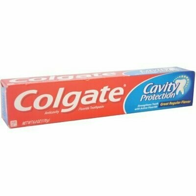 Colgate Cavity Protection Toothpaste 6 oz