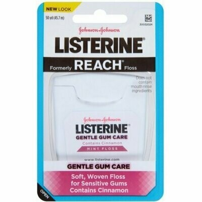 Listerine Gentle Gum Care Woven Floss 50 Yards