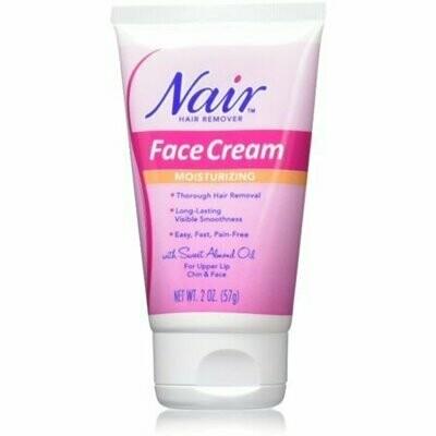 Nair Hair Remover Moisturizing Face Cream 2 oz