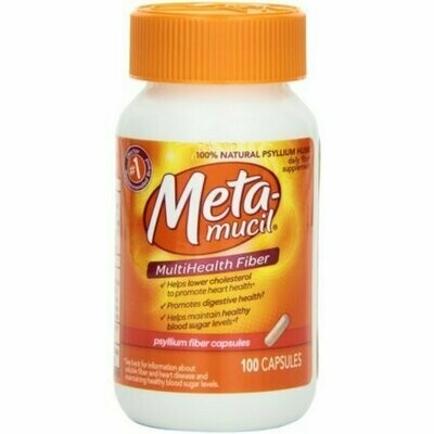 Metamucil Multi-Health Fiber Capsules 100 each
