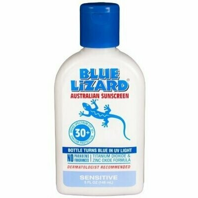 Blue Lizard Australian Suncreen SPF 30, Sensitive 5 oz