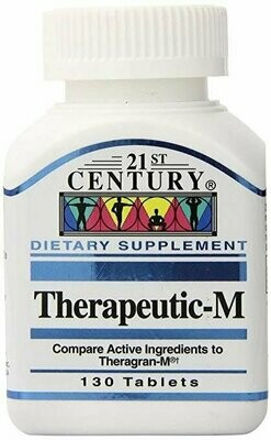 21st Century Therapeutic-M Tablets, 130 tablets