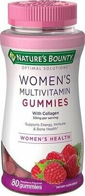 Nature's Bounty Optimal Solutions Women's Multivitamin Gummies 80 Count