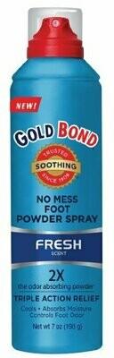 GOLD BOND FOOT POWDER SPRAY FRESH 7 OZ