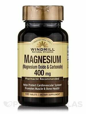 Windmill Vitamin Magnesium Oxide 400 mg - 100 tablets