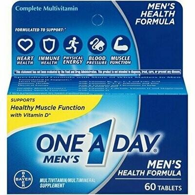 One A Day Men's Health Formula Multivitamin, 60 Count