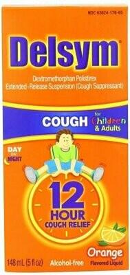Delsym Children's Cough Suppressant, Orange, 5 Ounce