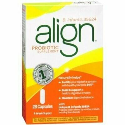 Align Probiotic Supplement 24/7 Digestive Support, 28 Capsules