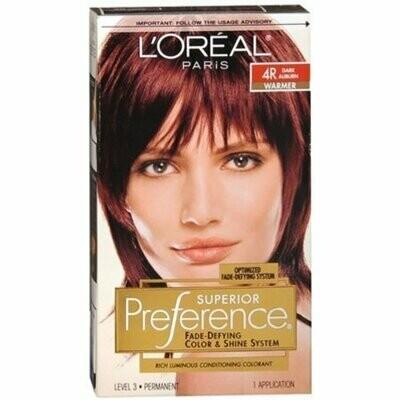 L'Oreal Superior Preference - 4R Dark Auburn (Warmer) 1 Each