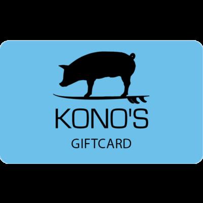 $50 Kono's Gift Card