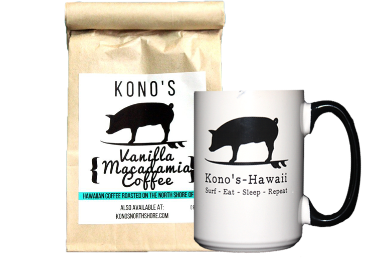 Vanilla Macadamia Coffee & Small Mug Bundle