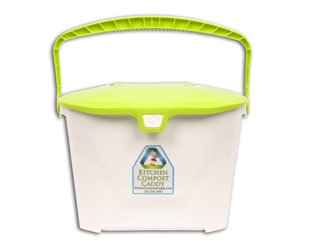 compost caddy vented compost pail with activated carbon filters kitchen compost bin