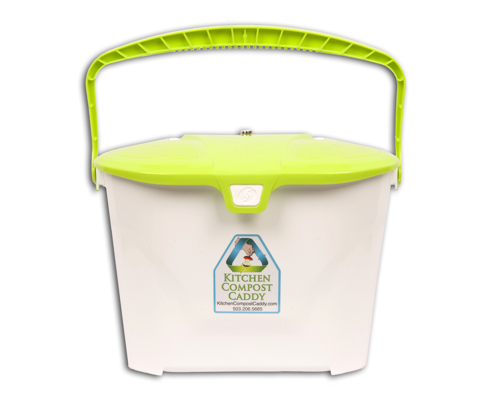 Kitchen Compost Caddy Vented Compost Pail With Activated Carbon Filters And  Magnetic Vented Lid (for Use With ...