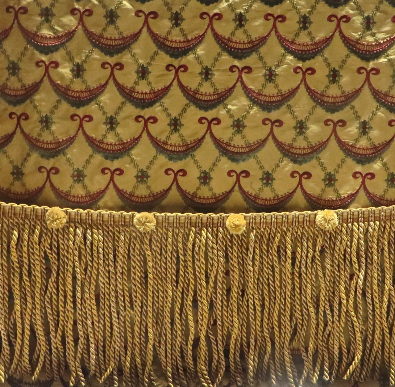 Sexy 85 inches long gold bullion fringe trim for furniture 85 inches long gold bullion fringe for draperies upholstery bedding crafts shown with nvjuhfo Choice Image