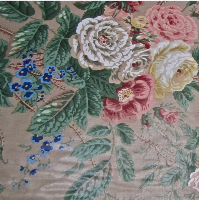 Lee Jofa La Coiffure Toile Print Fabric Remnants Various Colors and Sizes