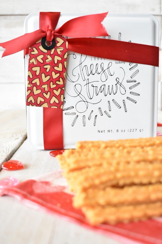 Cheese Straw Gift Tin