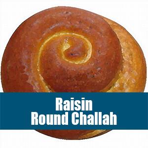 Raisin Round Challah