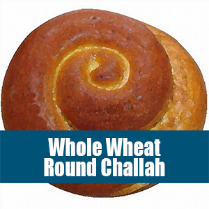 Whole Wheat Round Challah