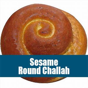 Sesame Round Challah