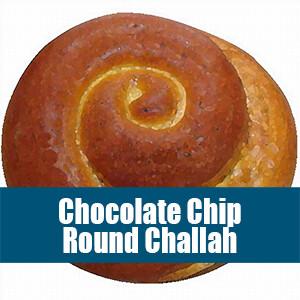 Chocolate Chip Round Challah