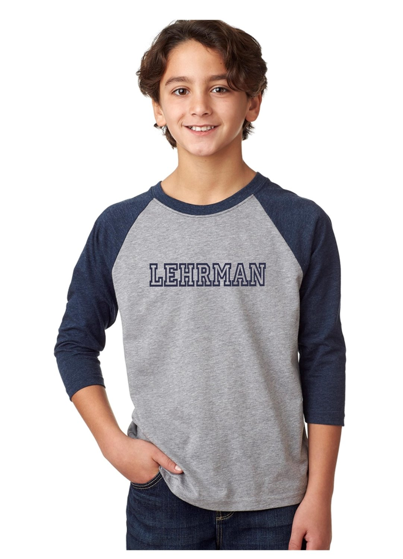 Lehrman Raglan T-Shirt Unisex YOUTH