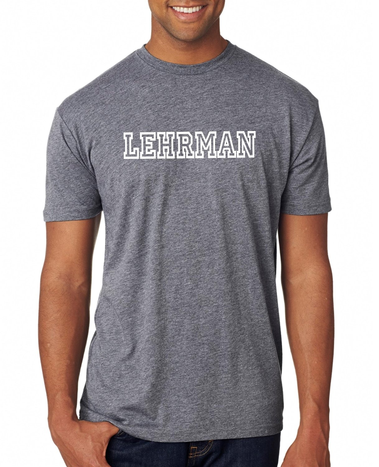 NEW! Grey Soft T-shirt with White ADULT
