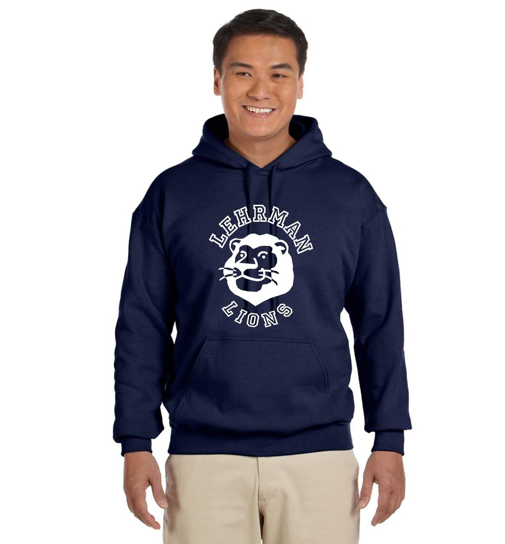 Lehrman Hoodie Pullover Lion Sweatshirt Unisex ADULT
