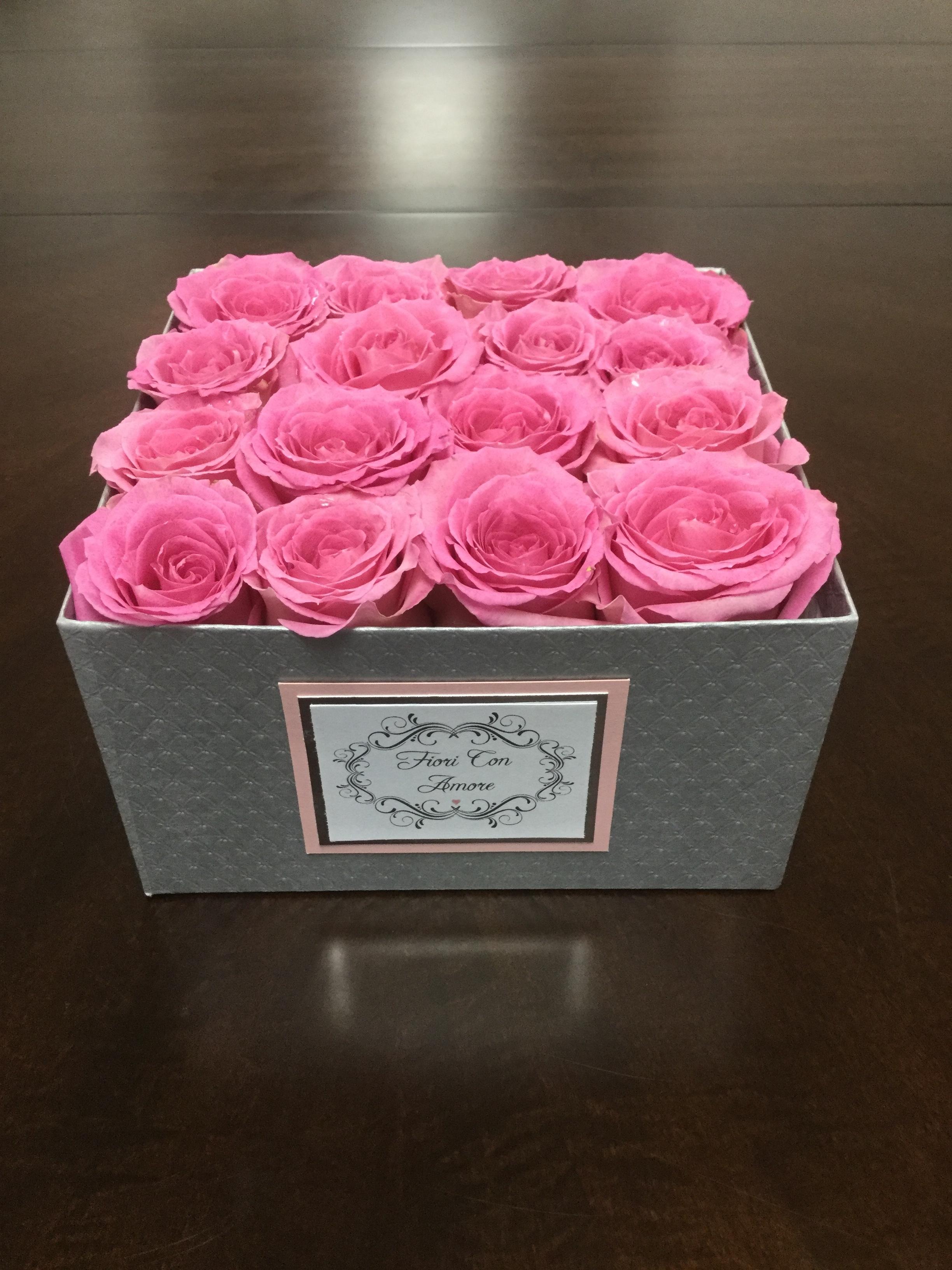"""Love You"" Flower Box V40022A"